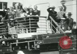 Image of Hollywood film magnate Carl Laemmle aboard the ship Europa New York City USA, 1931, second 53 stock footage video 65675022464