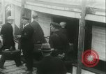 Image of illegal immigrants deported through Ellis Island Communipaw New Jersey USA, 1931, second 52 stock footage video 65675022469