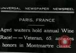 Image of Annual Wine Race Paris France, 1931, second 1 stock footage video 65675022474