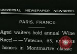 Image of Annual Wine Race Paris France, 1931, second 2 stock footage video 65675022474
