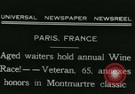 Image of Annual Wine Race Paris France, 1931, second 6 stock footage video 65675022474