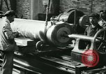 Image of 155mm artillery being loaded in World War I Saint Cloud France, 1918, second 15 stock footage video 65675022478