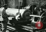 Image of 155mm artillery being loaded in World War I Saint Cloud France, 1918, second 22 stock footage video 65675022478