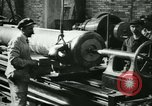 Image of 155mm artillery being loaded in World War I Saint Cloud France, 1918, second 23 stock footage video 65675022478