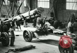 Image of 155mm artillery being loaded in World War I Saint Cloud France, 1918, second 53 stock footage video 65675022478