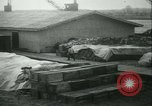 Image of French 155 mm Howitzers at factory World War I Gironde France, 1918, second 50 stock footage video 65675022481