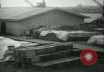 Image of French 155 mm Howitzers at factory World War I Gironde France, 1918, second 52 stock footage video 65675022481