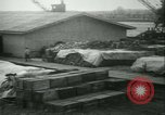 Image of French 155 mm Howitzers at factory World War I Gironde France, 1918, second 53 stock footage video 65675022481