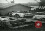 Image of French 155 mm Howitzers at factory World War I Gironde France, 1918, second 55 stock footage video 65675022481