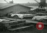 Image of French 155 mm Howitzers at factory World War I Gironde France, 1918, second 56 stock footage video 65675022481