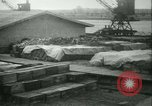 Image of French 155 mm Howitzers at factory World War I Gironde France, 1918, second 58 stock footage video 65675022481