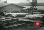 Image of French 155 mm Howitzers at factory World War I Gironde France, 1918, second 59 stock footage video 65675022481