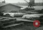 Image of French 155 mm Howitzers at factory World War I Gironde France, 1918, second 60 stock footage video 65675022481