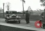 Image of Henry Ford and Andre Citroen Dearborn Michigan USA, 1930, second 4 stock footage video 65675022483