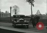 Image of Henry Ford and Andre Citroen Dearborn Michigan USA, 1930, second 45 stock footage video 65675022483
