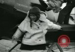 Image of Charles Augustus Lindbergh and Mrs Lindbergh United States USA, 1933, second 13 stock footage video 65675022489