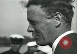 Image of Charles Augustus Lindbergh and Mrs Lindbergh United States USA, 1933, second 23 stock footage video 65675022489
