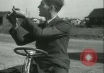 Image of motor scooter United States USA, 1933, second 12 stock footage video 65675022493