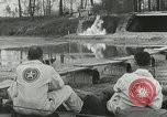 Image of Aircraft gasoline tank test Maryland United States USA, 1941, second 36 stock footage video 65675022506