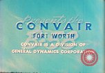 Image of Convair B-58 aircraft United States USA, 1956, second 7 stock footage video 65675022536