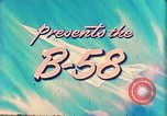 Image of Convair B-58 aircraft United States USA, 1956, second 8 stock footage video 65675022536
