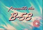 Image of Convair B-58 aircraft United States USA, 1956, second 9 stock footage video 65675022536