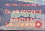 Image of Boeing B-47 Stratojet bomber MacDill Air Force Base Florida USA, 1954, second 17 stock footage video 65675022541