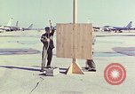 Image of Boeing B-47 Stratojet bomber Eglin Air Force Base Okaloosa County Florida USA, 1954, second 9 stock footage video 65675022542