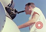 Image of Boeing B-47 Stratojet bomber Eglin Air Force Base Okaloosa County Florida USA, 1954, second 23 stock footage video 65675022542