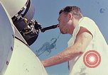 Image of Boeing B-47 Stratojet bomber Eglin Air Force Base Okaloosa County Florida USA, 1954, second 25 stock footage video 65675022542