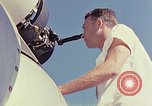 Image of Boeing B-47 Stratojet bomber Eglin Air Force Base Okaloosa County Florida USA, 1954, second 28 stock footage video 65675022542