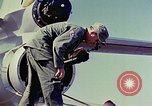 Image of Boeing B-47 Stratojet bomber Eglin Air Force Base Okaloosa County Florida USA, 1954, second 37 stock footage video 65675022542