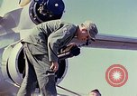 Image of Boeing B-47 Stratojet bomber Eglin Air Force Base Okaloosa County Florida USA, 1954, second 38 stock footage video 65675022542