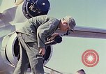 Image of Boeing B-47 Stratojet bomber Eglin Air Force Base Okaloosa County Florida USA, 1954, second 39 stock footage video 65675022542