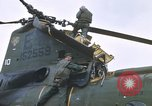 Image of United States Marines salvage parts from a helicopter Vietnam, 1968, second 57 stock footage video 65675022557