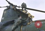 Image of United States Marines salvage parts from a helicopter Vietnam, 1968, second 61 stock footage video 65675022557