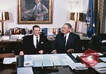 Image of dignitaries United States USA, 1967, second 13 stock footage video 65675022578