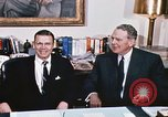 Image of dignitaries United States USA, 1967, second 18 stock footage video 65675022578