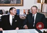 Image of dignitaries United States USA, 1967, second 19 stock footage video 65675022578