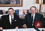 Image of dignitaries United States USA, 1967, second 21 stock footage video 65675022578