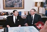 Image of dignitaries United States USA, 1967, second 37 stock footage video 65675022578