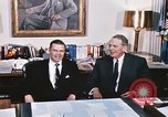 Image of dignitaries United States USA, 1967, second 39 stock footage video 65675022578