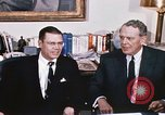 Image of dignitaries United States USA, 1967, second 57 stock footage video 65675022578
