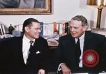 Image of dignitaries United States USA, 1967, second 62 stock footage video 65675022578