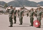Image of Change of command Nha Trang Vietnam, 1968, second 34 stock footage video 65675022583