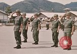 Image of Change of command Nha Trang Vietnam, 1968, second 36 stock footage video 65675022583