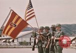 Image of Change of command Nha Trang Vietnam, 1968, second 59 stock footage video 65675022583