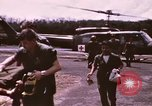 Image of operation on wounded soldier Vietnam, 1969, second 17 stock footage video 65675022610