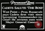 Image of President and Mrs. Franklin D. Roosevelt visiting U.S. Military Academ West Point New York USA, 1934, second 1 stock footage video 65675022615
