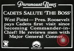 Image of President and Mrs. Franklin D. Roosevelt visiting U.S. Military Academ West Point New York USA, 1934, second 2 stock footage video 65675022615